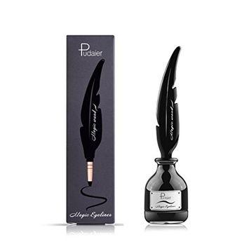 Rockrok Pudaier Black Magic Gel Eyeliner Cream Waterproof Longlasting No Blooming Eye Makeup