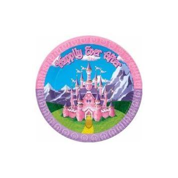 Princess Plates (8/Pkg)
