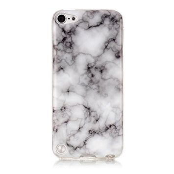 UCLLiPod Touch 6 Case ,iPod Touch 5 Case , Marble Design Slim Soft TPU Bumper Protective Durable Shockproof Case For Ipod Touch 5/Touch 6 (gray)