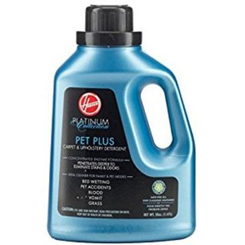 Hoover Platinum Collection Pet Plus Carpet and Upholstery Detergent 50 oz, AH30035