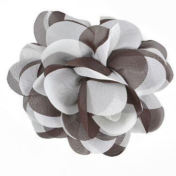 Expo International, Inc Expo Tina Fashion Flower Fabric Brooch Pin Hair Clip