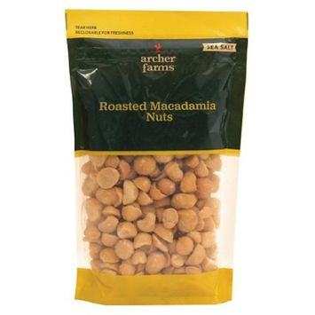 Sea Salt Roasted Macadamia Nuts 10oz - Archer Farms™