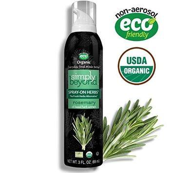 Simply Beyond, Organic Spray-On Herbs, Rosemary, 3 Fl. Oz [Rosemary]