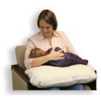 Organic Caboose Nursing Pillow - 100% Organic Cotton - Inside and Out