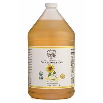 La Tourangelle, Organic Sunflower Oil, 128 Fluid Ounce