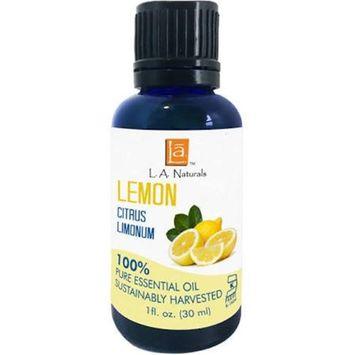 Long Aid Naturals 1133513 1 oz Lemon Essential Oil - Case of 12