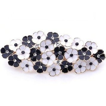Lovely Vintage Jewelry Crystal Flowers Hair Clips Hairpins- For Hair Clip Beauty Tools