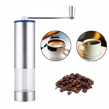 Kuke coffee grinders, Portable Washable Manual Coffee Grinder, Stainless Steel Coffee Grinder