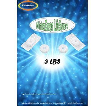 LifeSavers Wint-O-Green 3 lbs Individually Wrapped