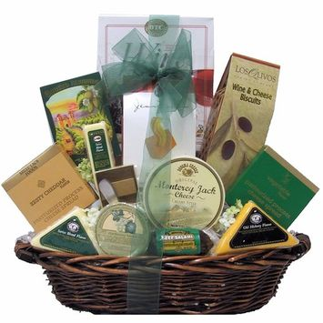 Great Arrivals Gourmet Cheese Gift Basket, Classic