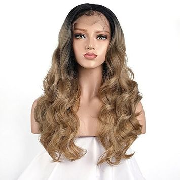 ALICE Lace Front Wig Flaxen Brown Wig, 24