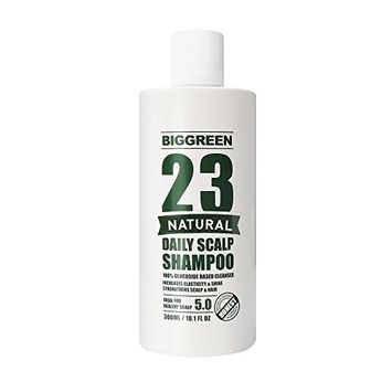 Big Green 23 Natural Daily Scalp Shampoo 10.1 fl oz-Natural Plant Based-Sulfate & Silicone Free-Helps Relieve Dry & Irritated Scalp-Botanical Oils Nourish & Promote Strong & Healthy Hair