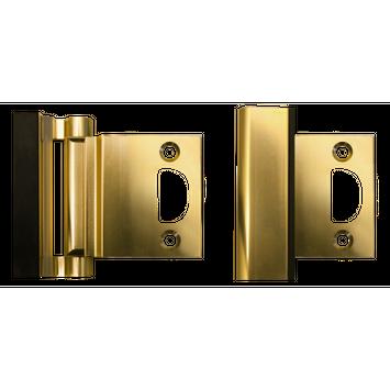 Door Guardian-Strikeplate Brass