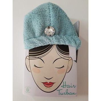 Ladies Hair Turban Luxury Microfiber Fast Drying Towel Easy Wrap Twist All Hair Types Lengths