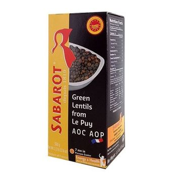 Sabarot French Green Lentils from Le Puy - 500g