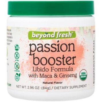 Passion Booster (84 Grams Powder) by Beyond Fresh at the Vitamin Shoppe