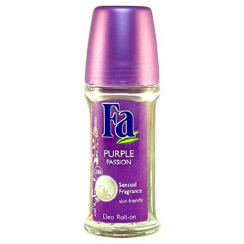 Fa Purple Passion Roll-on Deodorant, 24 Hour 1.7oz/50ml (Glass Bottle)