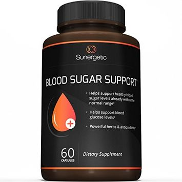Premium Blood Sugar Support Supplement - Helps Support Healthy Blood Sugar & Glucose Levels- Includes Bitter Melon, Vanadium, Chromium, White Mulberry, Cinnamon, & Alpha Lipoic Acid - 60 Capsules