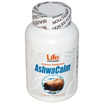 Life Enhancement, AshwaCalm, 300 mg, 120 Capsules