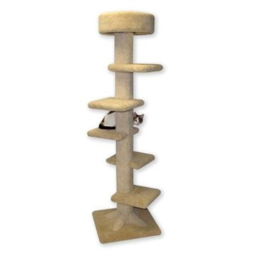 Beatrise BP150 7 ft. Spiral Foot Tower for Cat Condo
