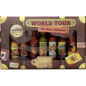 World Tour Hot Sauce Collection -7 Bottles Gift Set
