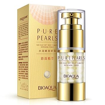 Eye Cream Anti-wrinkles Pearls Moist Collagen Remove Eye Bag Dark Circle Firming By HuntGold[Net Content: 25g]
