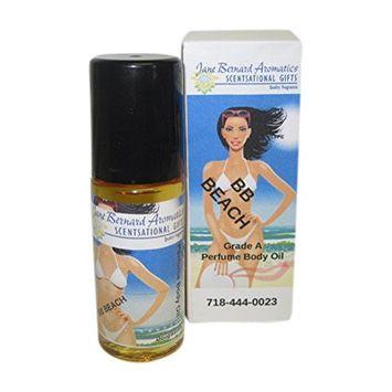 Jane Bernard Perfumed Body Oil Inspired byBB BEACH_Type Women Fragrance - Long Lasting Scent_1 ounce Jumbo Roll On_Grade