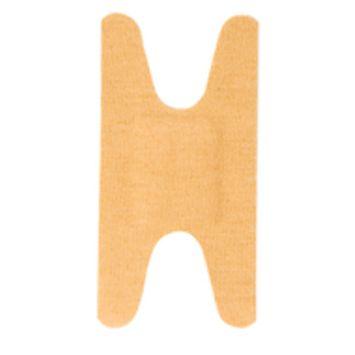 MooreBrand Fingertip Fabric Adhesive Bandages, 2-1/4 x 1-3/8 Inch - Box of 100