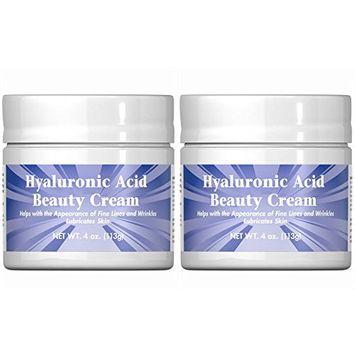 Puritan's Pride Hyaluronic Acid Beauty Cream-4 oz Cream