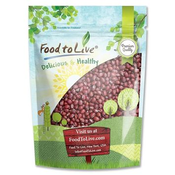 Adzuki Beans, 8 Ounces - Dried, Bulk [Conventional]