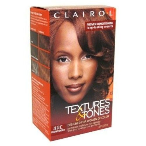 Clairol Text & Tone Kit #4Rc Cherry Wood (6 Pack) by Clairol