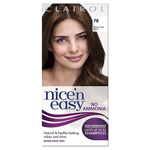 Nice 'N' Easy by Lasting Colour 78 MEDIUM GOLDEN BROWN [Health and Beauty]