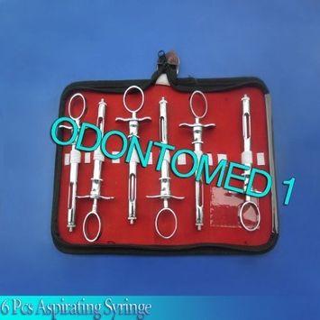 ODM 6 Pcs Set of Aspirating Syringe by ODONTOMED1