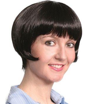 Fashion women short straight Dutch wig
