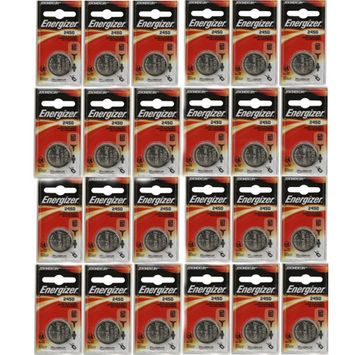 24 Pack Energizer CR2450 ECR2450 CR 2450 3V Lithium Coin Cell Button Battery