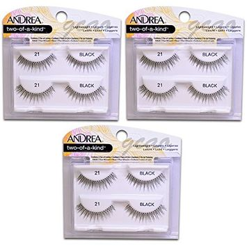 Andrea two of a kind Lashes 21 black (3 Twin)