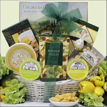 GreatArrivals Gift Baskets Tempting Cheese Delights Small Gourmet Cheese Gift Basket