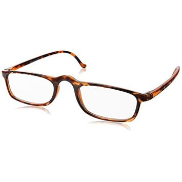 Dr. Dean Edell Calexico Reading Glasses, Tortoise (+2.25)