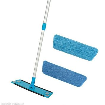 Simplee Cleen Microfiber Mop Kit For All Floor Types 100% Green Clean