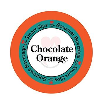 Smart Sips Chocolate Orange Coffee Compatible with All Keurig K-cup Brewers, (24-Count)