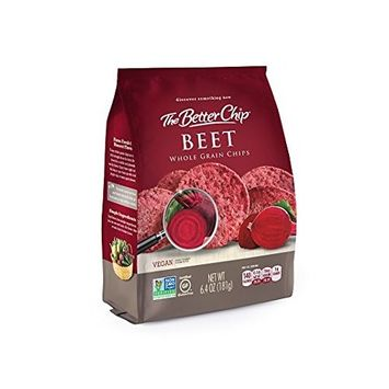 The Better Chip Whole Grain Chips, Beet, 6.4 Ounce (Pack of 12)