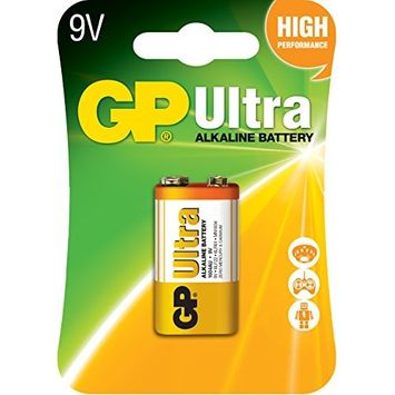 Gp Ultra Alkaline Battery 9v1,