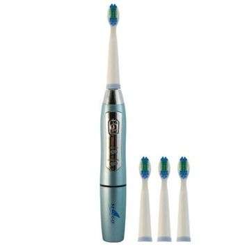 Seago Intelligent Frequency Sonic Electric Toothbrush with 3 Brush Heads Sg910