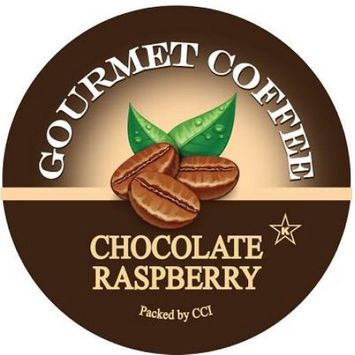 Smart Sips Coffee Chocolate Raspberry Flavored Coffee, Single Serve Cups for Keurig K-cup Brewers, 72 Count
