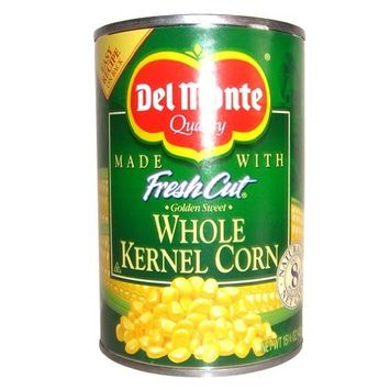 DEL MONTE CORN VEGETABLES FRESH CUT WHOLE KERNEL CANNED 15.25 OZ