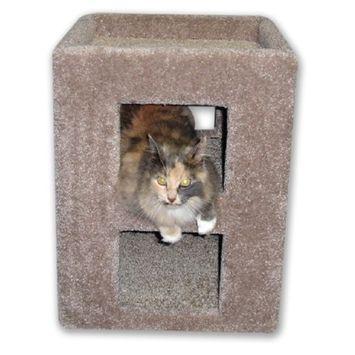 Beatrise Kitty Cube Cat Condo