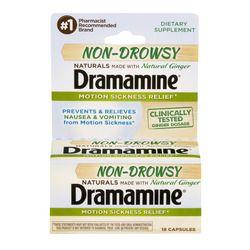 Dramamine Non Drowsy Naturals (18ct)