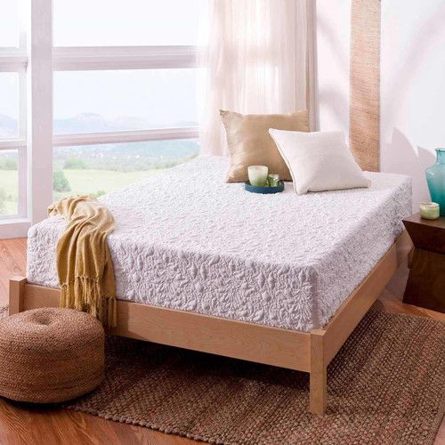 "Spa Sensations 12"" Theratouch Memory Foam Mattress ..."