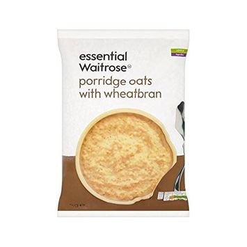 Porridge Oats With Wheatbran essential Waitrose 1kg