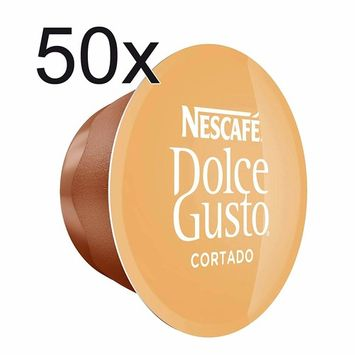 50 X Nescafé Dolce Gusto Cortado Espresso Macchiato, 50 Capsules